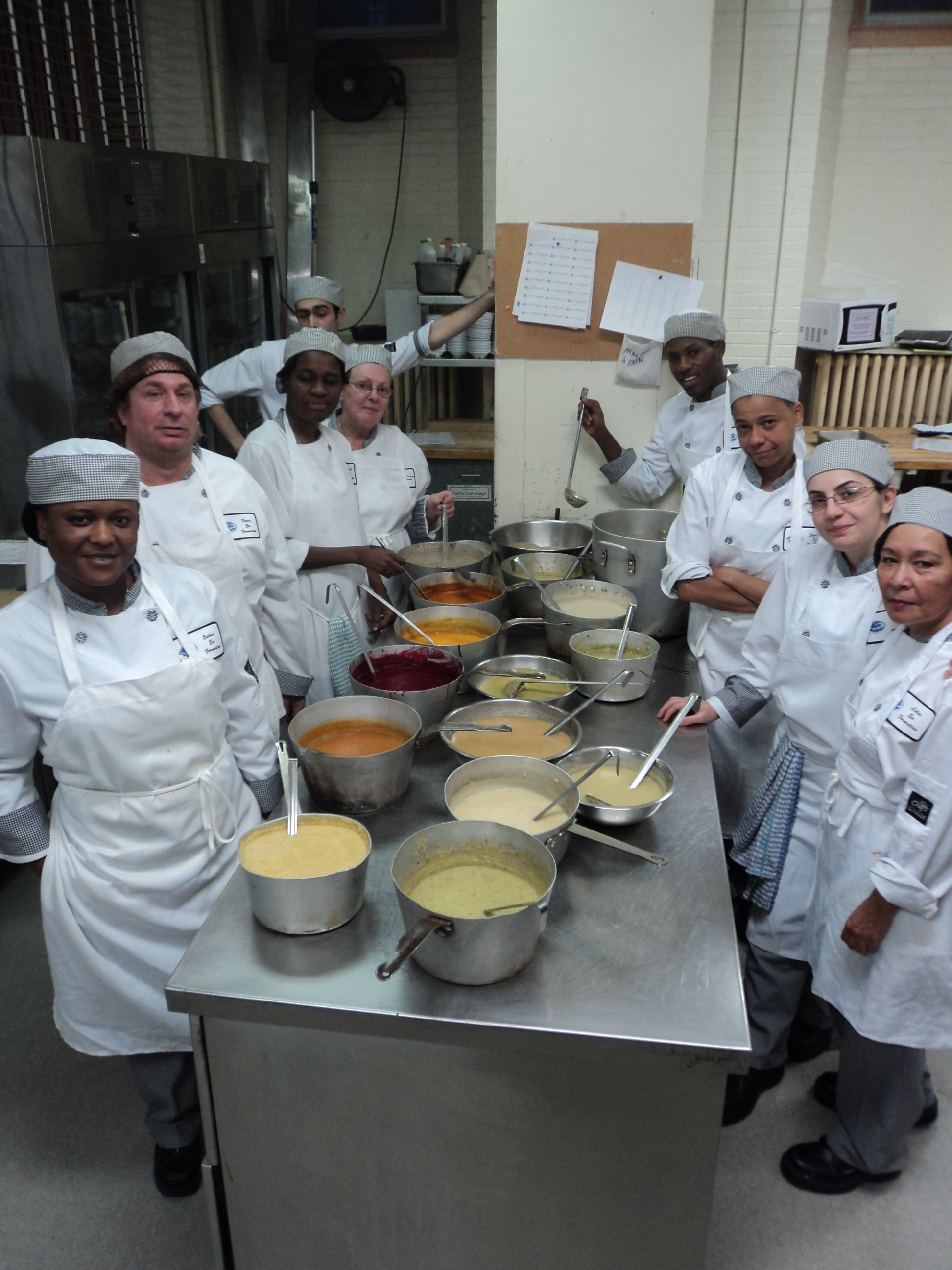 Stages en cuisine sourdef for Formateur en cuisine